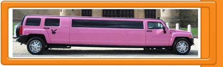 Pink Hummer Limo H3 Picture