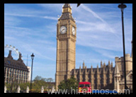 Limo Hire London to Big Ben