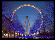 Limo Hire London to London Eye