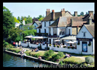 Limo Hire Staines to Riverside Inn