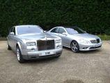 Rolls Royce Phantom with Mercedes-Benz